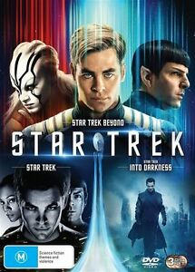 Star Trek 3 Movie Collection BRAND NEW SEALED R4 DVD