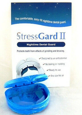 StressGard II Night Tooth Teeth Mouth Bruxism Guard TMJ