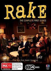 Rake : Series 1 (DVD, 2011, 4-Disc Set)