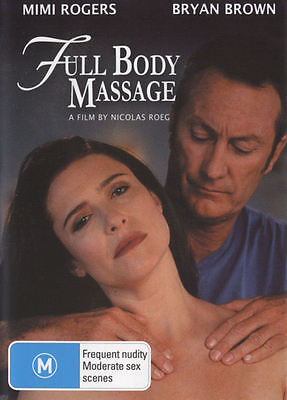 Dvd Full Body Massage  1995    Mimi Rogers  Bryan Brown  Nicolas Roeg Dir