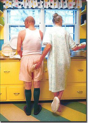 Woman Goosing Husband Funny Birthday Card - Greeting Card by Avanti Press