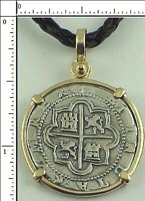 Atocha Coin Replica 2 Reale Cob Piece Of Eight Atocha 1622 Shipwreck Pendant