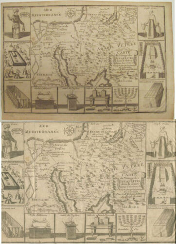 c. 1742 Map The Israelites