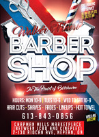Skilled barbers wanted