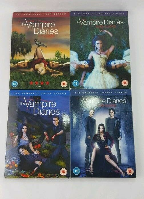 THE VAMPIRE DIARIES 1 - 4 COMPLETE SET