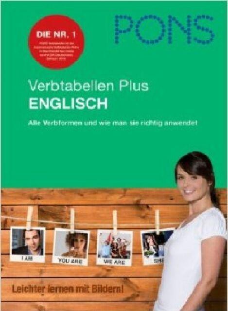 PONS Verbtabellen Plus Englisch  2013, NEU