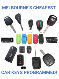 Melbourne's Cheapest Car Key Cutting and Programming!!!