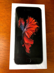 iPhone 6s 32GB space gray, sealed, brand new in box - $395