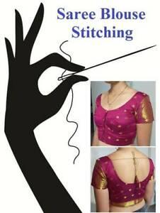 Indian Saree Blouse Stitching / Sewing
