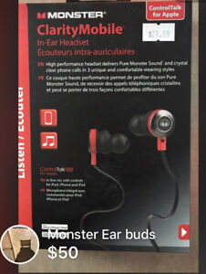 Monster in ear headset