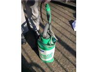 Water pump spray