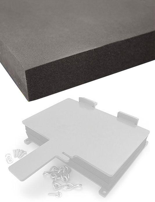 2 Sheets -Kydex - Sheath/Holster Making Foam - Thermoform Pressing - (8x12x1)