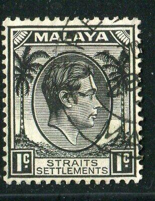 D261467 Malaya Straits Settlements VFU King George VI 1 c. 1937-41 Sc. 238