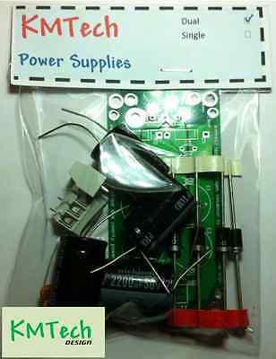 Dual Symmetrical Power Supply For Audio Amp etc KIT DIY