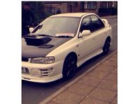 Subaru Impreza wrx Sti version 3 red top fresh import ..