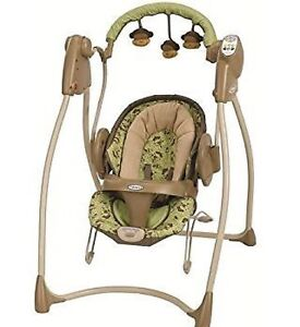 Graco - swing and bouncy