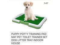 Puppy training mat set