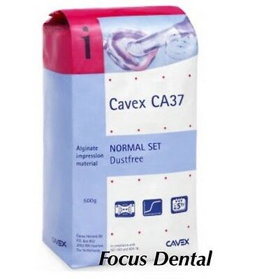 Cavex Dental Dust-free Mint Impression Material Alginate - Normal Set