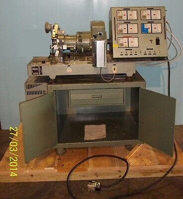 C.w. Brabender Plasticorder Type Pl-v300th Direct Drive Typegp100 Cabinet