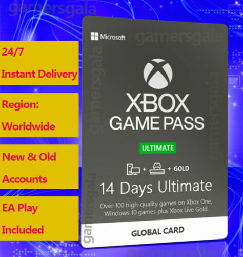 Xbox Game Pass Ultimate 14 Days Code w/ Live Gold for All Xbox Consoles - Global