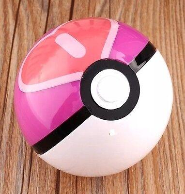 Pokemon Pokeball Love Heart Ball Plastic Pop-up Toy 7 cm Diameter US Seller