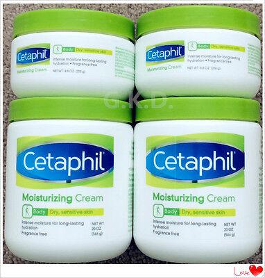 - Cetaphil Moisturizing Cream Dry Sensitive Skin Lotion Fragrance Free 8.8 & 20 oz