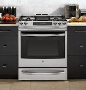 """NEW 30 """" STAINLESS STEEL SLIDE-IN GAS CONVECTION RANGE/STOVE"""