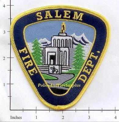 Oregon - Salem OR Fire Dept Patch