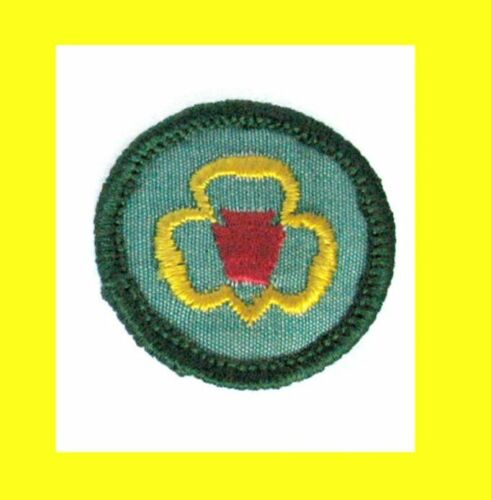 1960-62 ONLY Girl Scout NEW Badge MY TROOP Patch Trefoil VOLUME DISCOUNT Combine