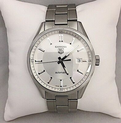 Tag Heuer Carrera WV211A-2 Mens Automatic Watch (w/ 5 Straps!) Hodinkee