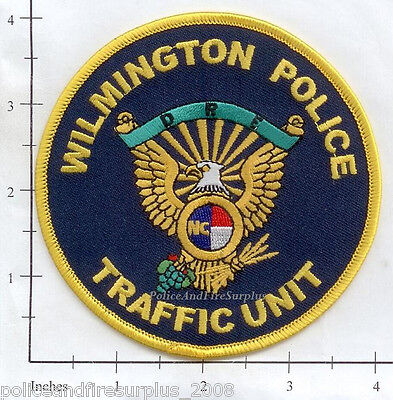 North Carolina - Wilmington Traffic Unit NC Police Dept Patch