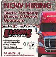 CANADA /USA Long-Haul drivers needed