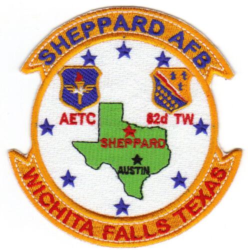 SHEPPARD AFB, WICHITA FALLS TX, AETC, 82ND TW    Y
