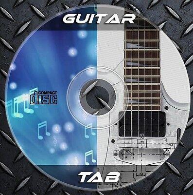 48.000 Partituras Guitarra Electrica, Acustica, Bajo. TAB tablaturas Coleccion
