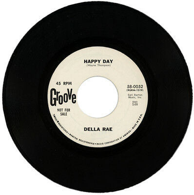 "DELLA RAE  ""HAPPY DAY c/w SOMEONE, SOMETIME""   DEMO  NORTHERN SOUL"