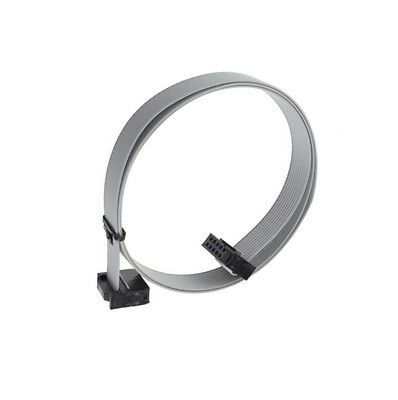 1pcs 70cm 10pin Usb Asp Isp Jtag Avr Wire 10p Idc Flat Ribbon Data Cable 2.54mm