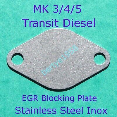 EGR Blanking Plate Ford MK 3,4,5 TRANSIT