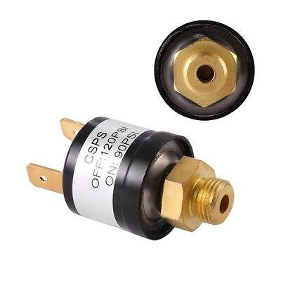 90-120 Psi Air Compressor Pressure Control Switch Valve Horn 18 12v24v