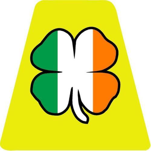 Irish Flag Shamrock HELMET TETS TETRAHEDRONS HELMET STICKER  EMT REFLECTIVE