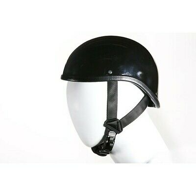 Gladiator Novelty Motorcycle Half Helmet Cruiser Biker S,M,L,XL,XXL Gloss Black! ()