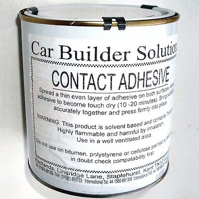 Car Parts - High Temperature Contact Adhesive Glue 1Ltr For Kit Car Track Rally
