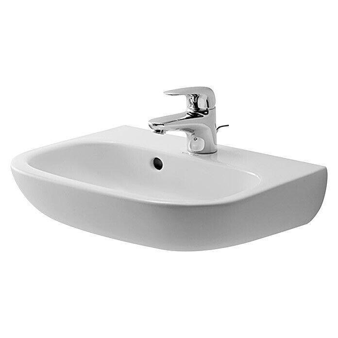 Duravit Waschbecken Klein 45 cm Waschtisch Handwaschbecken Weiß Gäste WC Bad