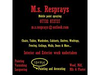 M.S. Resprays (Decorating Services)
