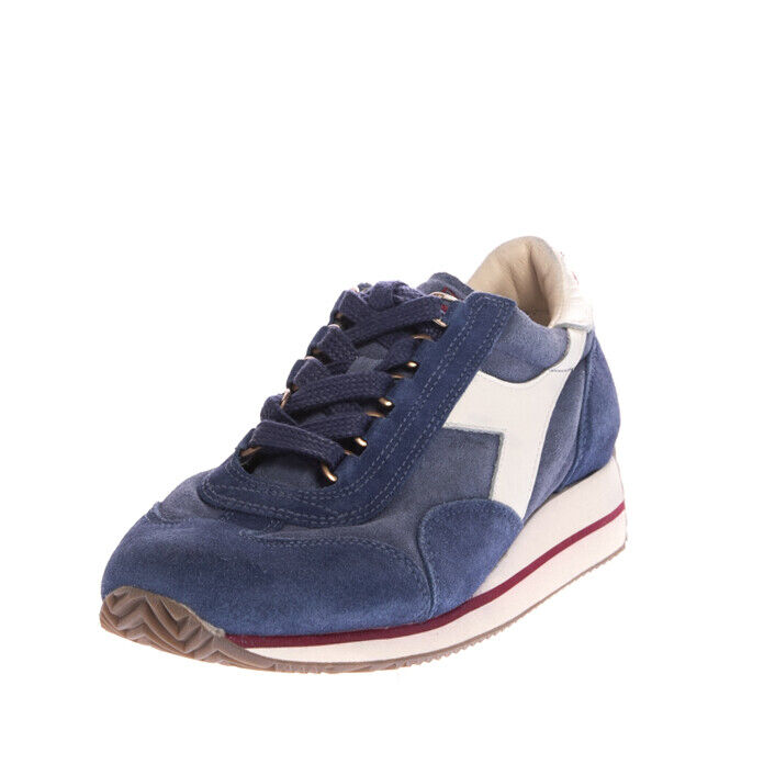 RRP €170 DIADORA HERITAGE EQUIPE S SW HH Leather Sneakers Size 40 UK 6.5 US 8.5