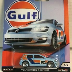 GULF Livery Hot Wheels Car Culture vw golf  $12 each