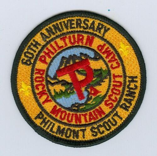 MINT Boy Scout Philmont Scout Ranch 60th Anniversary Patch