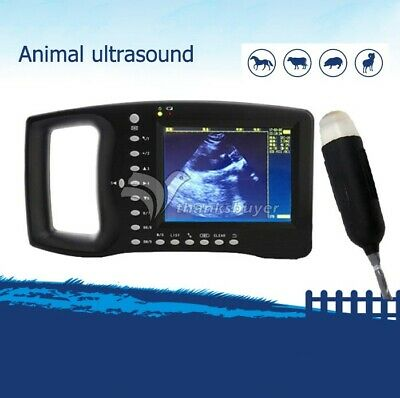 Portable Veterinary Ultrasound Scanner For Small Animals Dogs Cats Sheep Gdf-a4