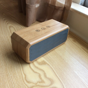 BPI* Bamboo Bluetooth Speakers