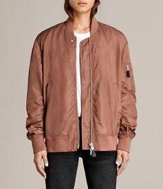 Women's rust all saints medium bomber jacket