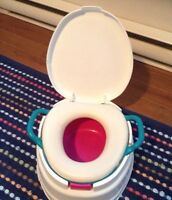 Graco brand Potty / trailing toilet and step stool